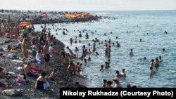 Батумский пляж (архив)