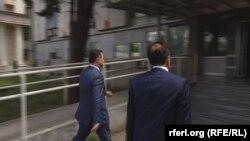Gruevski duke shkuar në gjykatë, 10 qershor 2016