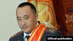 Ички иштер министринин орун басары Данияр Абдыкаров.