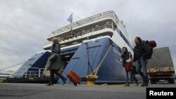 Архивска фотографија: Пристаништето во Пиреја.