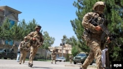 Операція силовиків зі знешкодження талібів у місті Лашкаргах, провінція Гільменд, Афганістан, 13 травня 2015 року