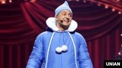 Актер «Студии Квартал-95» Владимир Зеленский во время съемок новогоднего «Вечернего квартала». Киев, 14 декабря 2018 года