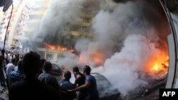 انفجار بمب در بیروت ۱۵ اوت ۲۰۱۳