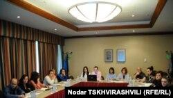 Члены ассоциации не ограничились Тбилиси и провели мероприятия в регионах страны