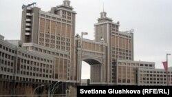 """Головной офис компании """"КазМунайГаз"""" в Астане. Иллюстративное фото."""