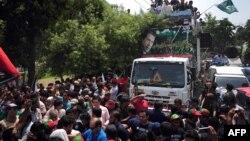 Антивладините протести во Пакистан