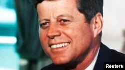 John F. Kennedy, 1963.