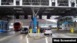 Пограничный пункт в Черногории, иллюстративное фото