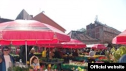 Zagreb, tržnica Dolac
