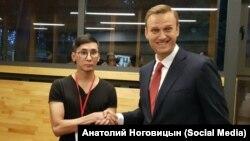 Анатолий Ноговицын и Алексей Навальный, 2017 год