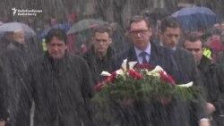Serbian President Pays Respects To Slain Kosovar Serb Politician