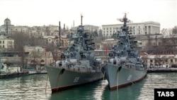 Russian Black Sea Fleet in Sevastopol