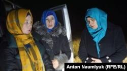 """Задержанные жены обвиняемых по делу """"Хизб ут-Тахрир"""""""