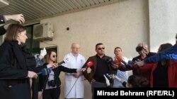 Izjave novinarima u Klinici u Mostaru