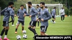 Сборная Ирана на тренировке