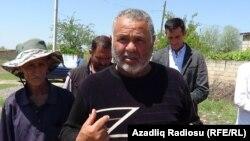 Ağarza Rzayev, Saatlı rayonu Dəllər kəndi, 5 may 2018