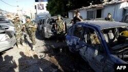 طبق گزارشها این حملات راکتی پنج مجروح بر جای گذاشته است.