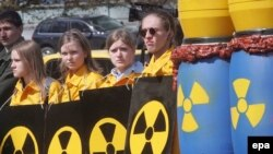 Nuclear safety is a key concern in Ukraine, the site of the 1986 Chornobyl disaster.