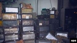 """Pogon za punjenje municije u """"Prvom partizanu"""", mjesto eksplozije u kojoj je poginulo sedam i ranjeno 14 osoba"""