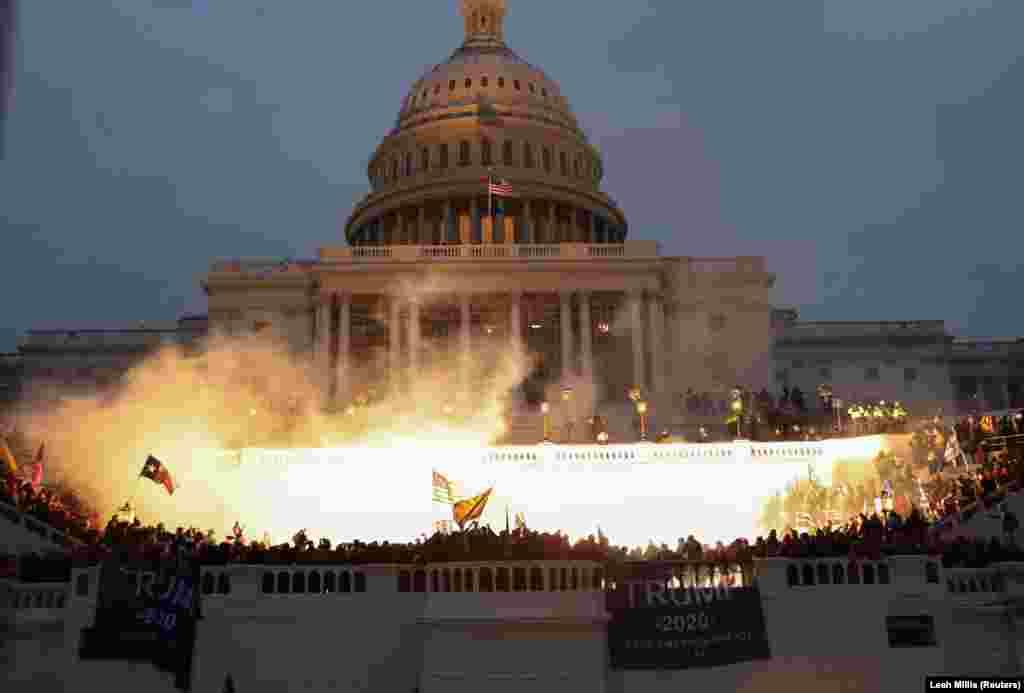 В ходе беспорядков в Вашингтоне погибли четыре человека