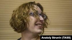Татьяна Фельгенгауэр, журналист российской радиостанции «Эхо Москвы».