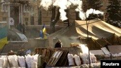 Киевдеги баррикада, 30-январь, 2014-жыл
