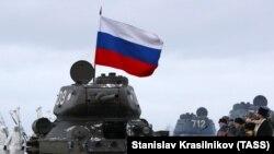 Российский танк, иллюстративное фото