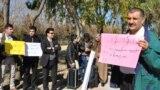 مظاهرة في اربيل تطالب بصرف الرواتب