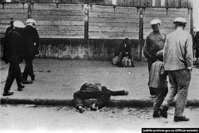 Ахвяра голаду 1932-33 гадоў ва Ўкраіне