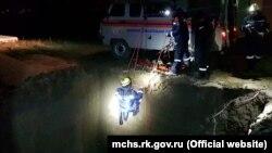 Спасательная операция в Крыму, архивное фото