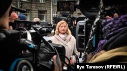 Ирина Геращенко, представитель Украины в гуманитарной подгруппе Трехсторонней контактной группы по урегулированию ситуации в Донбассе.
