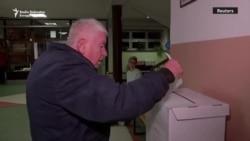 Hrvatska: Građani na biralištima
