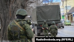 Russia's 810th independent Naval Infantry Brigade was one of at least three units involved in the takeover of Crimea, in which armed men lacking identifying insignias seized strategic points around the peninsula in February and March 2014.
