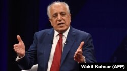 The special U.S. representative for Afghan peace and reconciliation, Zalmay Khalilzad