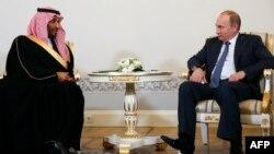 ولادیمیر پوتین و محمد بن سلمان