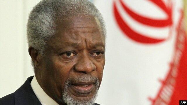 UN-Arab League envoy Kofi Annan