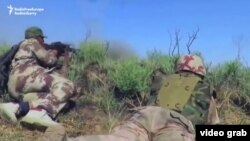 Forcat speciale irakiane në pozicionet tyre të sotme rreth Falluxhës