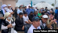 Kazakhstan - Gatherings to commemorate civic activist Dulat Agadil, August 8, 2020