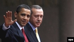 President Obama meets with Turkish Prime Minister Recep Tayyip Erdogan