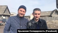 Advokat Edem Semedlâyev ve Ferat Sayfullayev