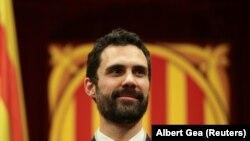 Каталония парламентинин жаңы дайындалган спикери Рожже Торрен.