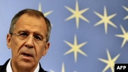 "Russian Foreign Minister Sergei Lavrov: ""Another provocation."""