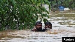 Потужні зливи в Індії, Керала, 20 серпня 2018 року