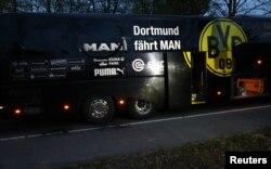 Autobuzul echipei de fotbal Borussia
