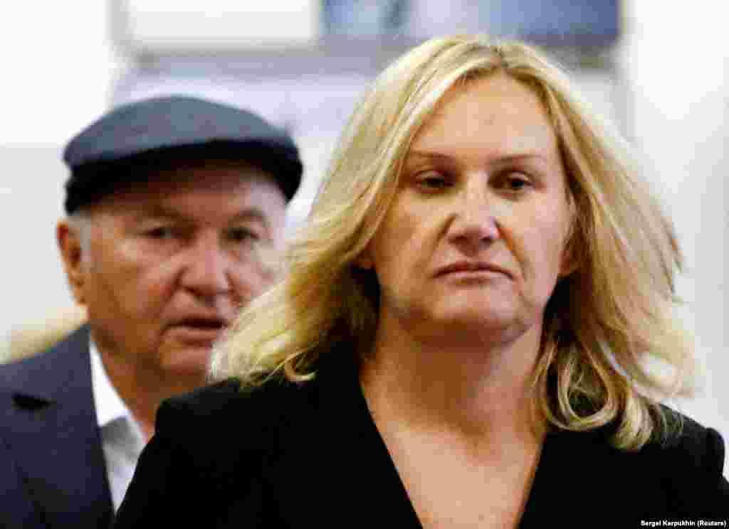 Юрій Лужков та його дружина й бізнес-леді Олена Батурина, найбагатша жінка в Росії, чий капітал становить близько 1,2 мільярда доларів, як повідомляє журнал Forbes