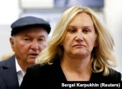 Лужков та його друга дружина Олена Батурина, найбагатша жінка Росії