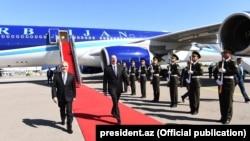 Президент Азербайджана сегодня посетил Нахичеван