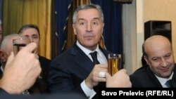 Montenegro - Parliament electing new Government, old-new Prime Minister Milo Djukanovic, Podgorica, 04Dec2012