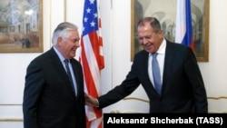 Встреча Рекса Тиллерсона и Сергея Лаврова, 7 декабря 2017 года.