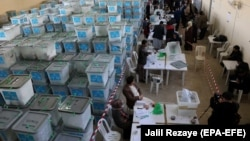 The new delay comes shortly after Afghanistan's election commission announced it was stopping a planned recount and audit of the votes. (file photo)